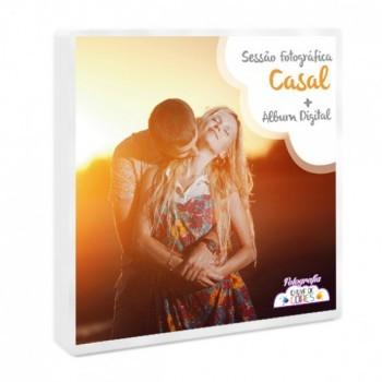 Caixa Presente- Sessão Fotográfica + Álbum Digital