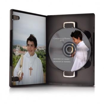 DVD com o Video da Cerimónia das Comunhões de Moreira 2017