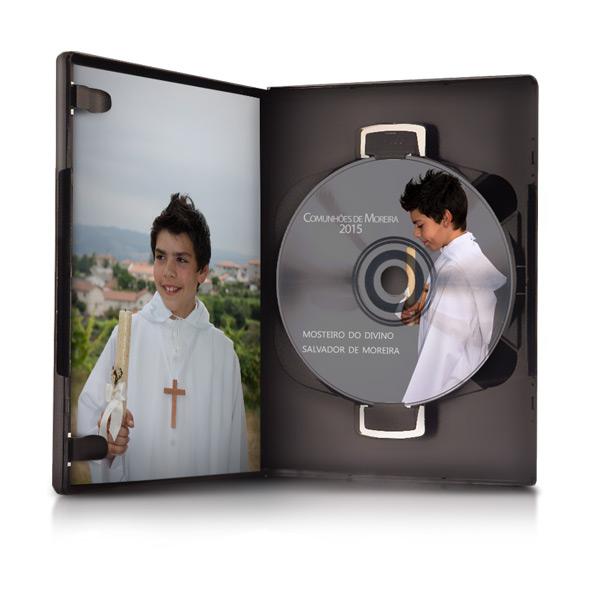 DVD com o Video da Cerimónia das Comunhões de Moreira 2019