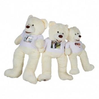 urso de peluche branco