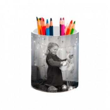 Porta-lápis em cerâmica